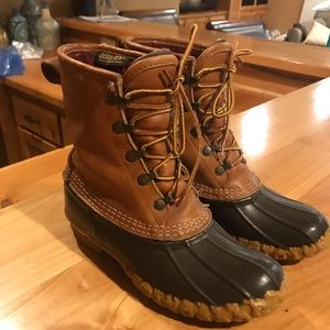 Vintage duck 🦆 boots from LL Bean